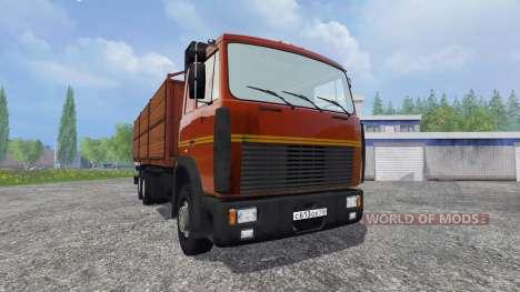 МАЗ-6303 [прицеп] для Farming Simulator 2015