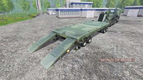 Oshkosh M1070 HET для Farming Simulator 2015