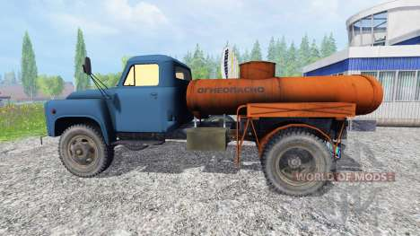 ГАЗ-53 [топливо] v2.0 для Farming Simulator 2015