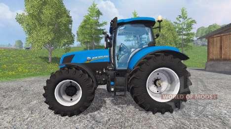 New Holland T7.170 [pack] для Farming Simulator 2015
