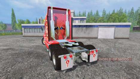 Kenworth T2000 [Coca-Cola Christmas] v1.1 для Farming Simulator 2015