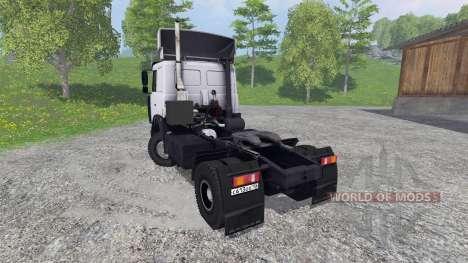 МАЗ-5432 [белый] для Farming Simulator 2015