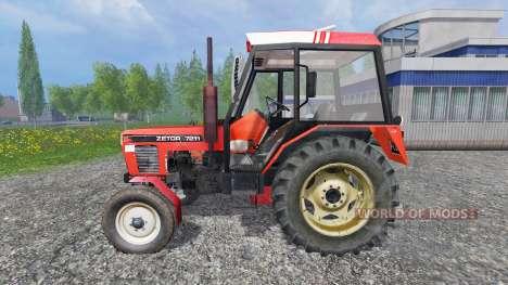 Zetor 7211 v1.0 для Farming Simulator 2015
