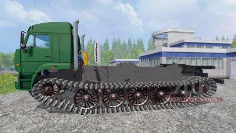КамАЗ-5460 [гусеничный] для Farming Simulator 2015