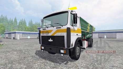 МАЗ-5516 [silo truck] для Farming Simulator 2015