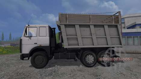 МАЗ-5516 v1.0 для Farming Simulator 2015