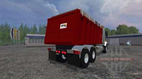 Kenworth T800 [dump] для Farming Simulator 2015