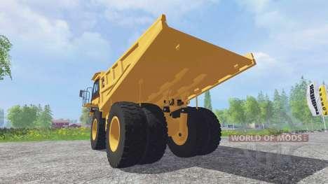 Caterpillar 773E для Farming Simulator 2015