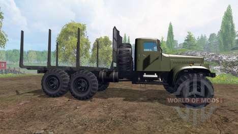 КрАЗ-255 В1 [лесовоз] v2.0 для Farming Simulator 2015
