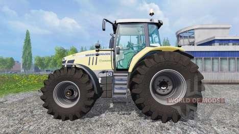 Massey Ferguson 7726 [Krone] для Farming Simulator 2015