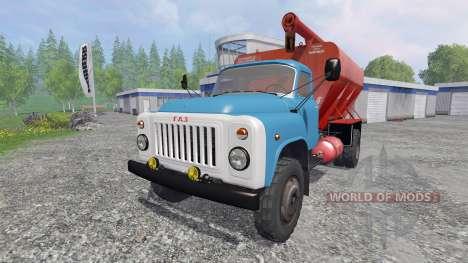 ГАЗ-53 ЗСК v2.0 для Farming Simulator 2015