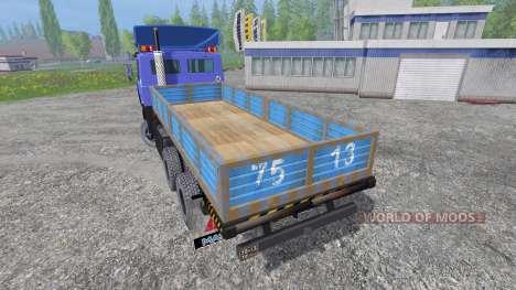 МАЗ-4370 [pack] для Farming Simulator 2015