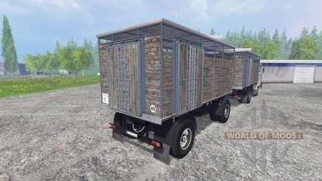 IFA W50 [перевозка животных] для Farming Simulator 2015
