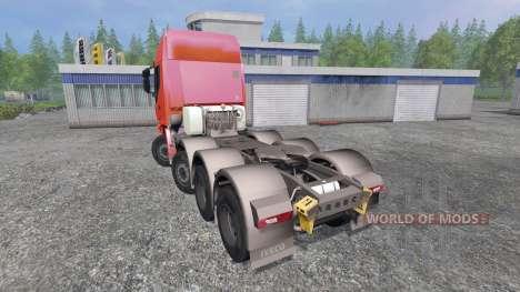Iveco Stralis 560 8x4 v1.5 для Farming Simulator 2015