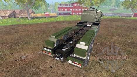 MAN KAT2 [agricultural] v2.0 для Farming Simulator 2015
