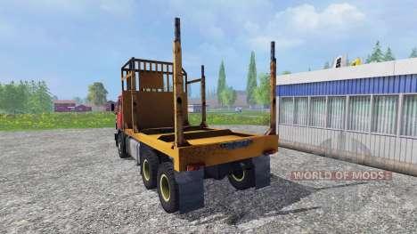 КамАЗ-55102 [лесник] для Farming Simulator 2015