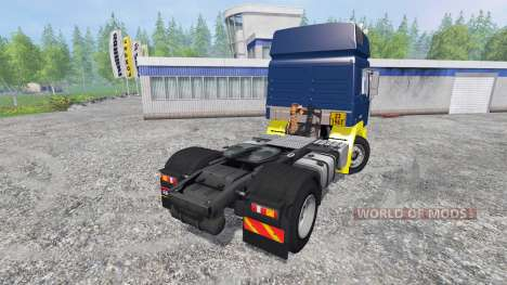 MAN F2000 19.414 [blue edition] для Farming Simulator 2015