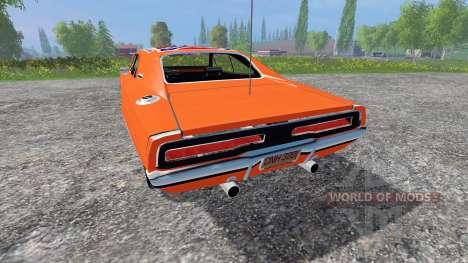 Dodge Charger RT 1969 General Lee для Farming Simulator 2015