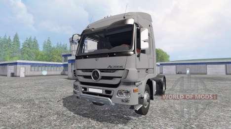 Mercedes-Benz Actros MP3 v0.8b для Farming Simulator 2015