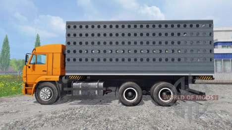 КамАЗ-45143 [pack] для Farming Simulator 2015