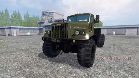 КрАЗ-255 В1 для Farming Simulator 2015