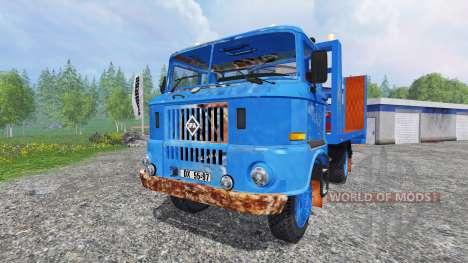 IFA W50 [tow truck] для Farming Simulator 2015