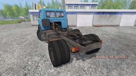 МАЗ-500 v1.15 для Farming Simulator 2015