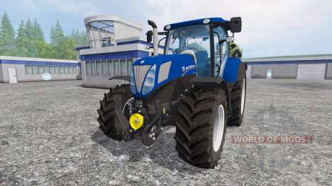 New Holland T7.170 [Blue Power] для Farming Simulator 2015