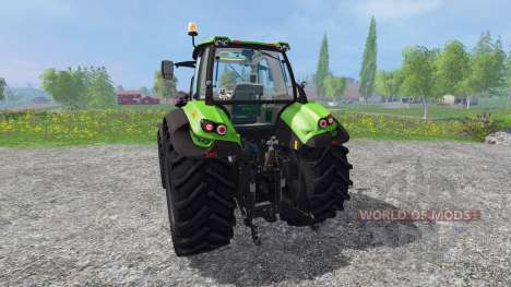 Deutz-Fahr Agrotron 7210 TTV v4.0 для Farming Simulator 2015