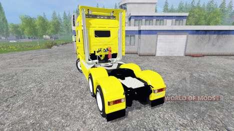 Scania Longline для Farming Simulator 2015