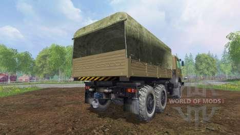 КамАЗ-43114 v1.3 для Farming Simulator 2015