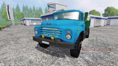 ЗиЛ-130 [синий] для Farming Simulator 2015