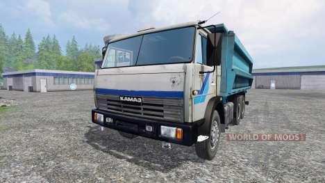 КамАЗ-45143 v1.1 для Farming Simulator 2015