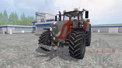 Fendt 936 Vario [red edition] для Farming Simulator 2015