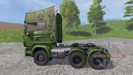 Scania R730 [euro farm] v1.2 для Farming Simulator 2015