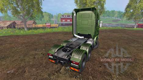 Scania R730 [euro farm] v0.9.6 для Farming Simulator 2015