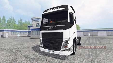 Volvo FH16 750 v3.1 для Farming Simulator 2015