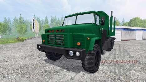 КрАЗ-260 [лесовоз] для Farming Simulator 2015