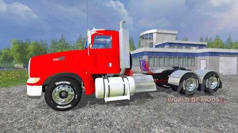 Peterbilt 384 v2.0 для Farming Simulator 2015