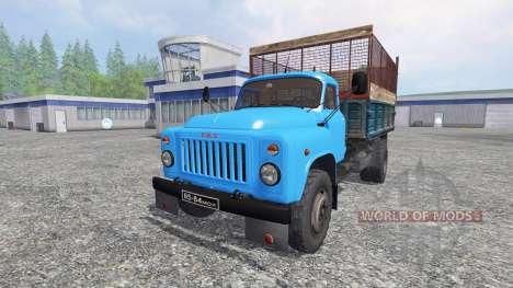 ГАЗ-53 [силос] для Farming Simulator 2015