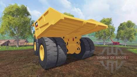 Caterpillar 797B для Farming Simulator 2015