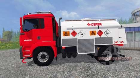 MAN TGA [CEPSA] v2.0 для Farming Simulator 2015