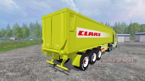 Kenworth T908 [CLAAS] для Farming Simulator 2015