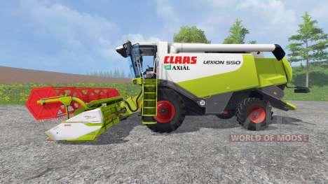 CLAAS Lexion 550 v1.0 для Farming Simulator 2015