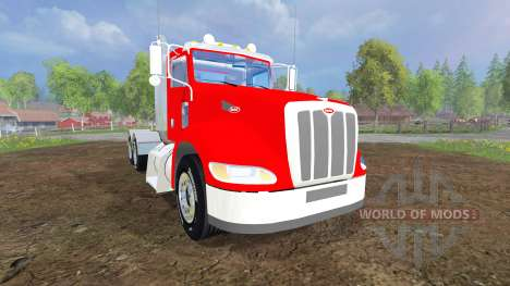 Peterbilt 384 v3.0 для Farming Simulator 2015