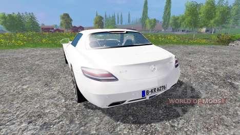 Mercedes-Benz SLS AMG для Farming Simulator 2015