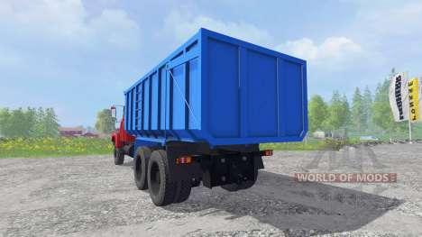КрАЗ-6130 С4 v1.2 для Farming Simulator 2015
