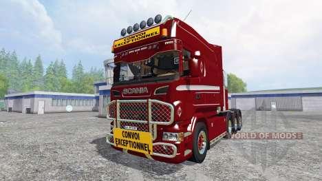 Scania Heavy для Farming Simulator 2015