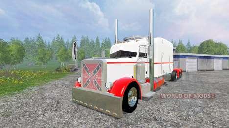 Peterbilt 359 [long haul] для Farming Simulator 2015