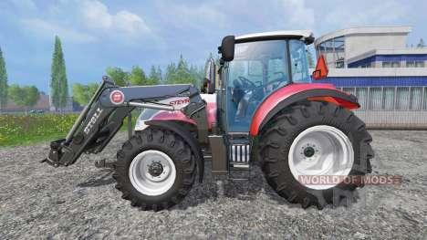 Steyr Multi 4115 [hardpoint] v2.0 для Farming Simulator 2015